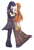 The kiss by Ly-riane