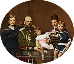Alexander III and family by Livadialilacs