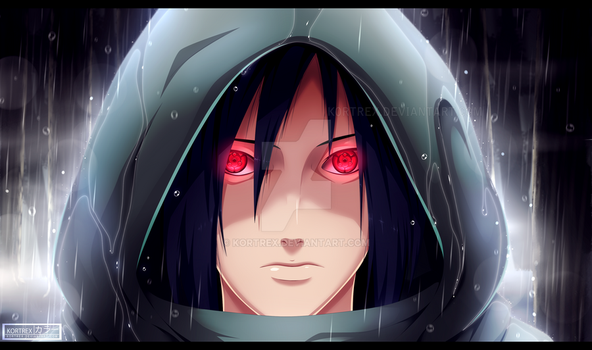 Madara Uchiha - Mangekyou Sharingan [commission] by Kortrex