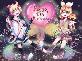 Kagamine 10 by JustARandomPers0n