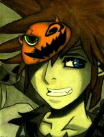 Halloween Town Sora by soupcan88