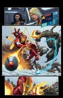AVENGERS Pag 4 by DAVID-OCAMPO