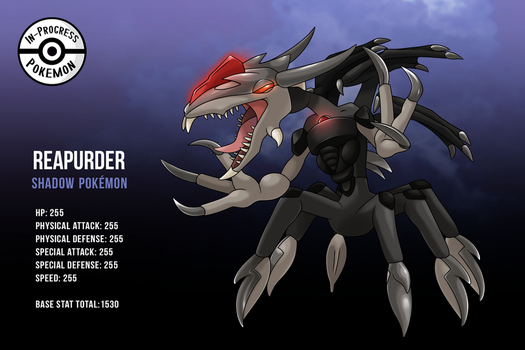 Fakemon - Reapurder by InProgressPokemon