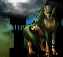 Wolf Link - Twilight Princess by October-Shadows