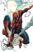 Spidey-day-colors by Ross-A-Campbell