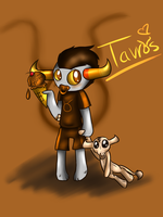 little Tavros by voidless-rogue