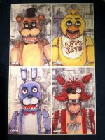 Five Nights at Freddy's Artwork by Chris Oz Fulton by gold94chica