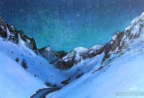 Starry Mountain by Sheeyo
