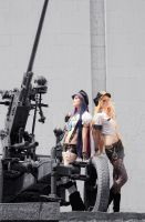 POLICE - Panty and Stocking by kirawinter