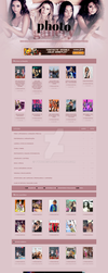 Little Mix - Coppermine Theme #02 by twnchest