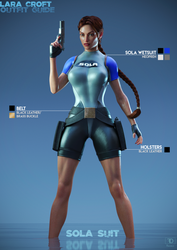 Lara Croft Outfit Guide: SOLA Suit by FredelsStuff