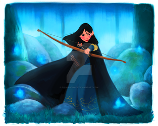 Mulan in Merida's World by DylanBonner