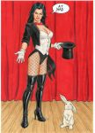 Zatanna - Is This Your Card ? by Promethean-Arts
