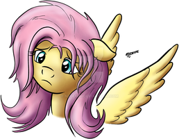 Sad Fluttershy by Nedemai