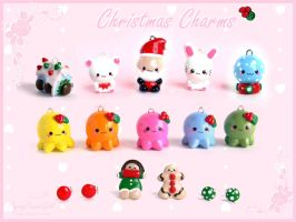 FPG Christmas Charms by FlyingPandaGirl