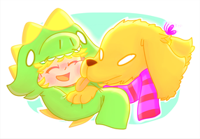Lil Doggy by sweetmashmellowroom