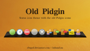 Old Pidgin - Status icon theme by hundone