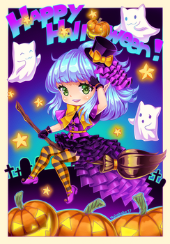 [+Video] Happy Halloween! by Nukababe