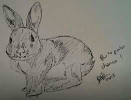 Lapin by LoiseFenollCreation