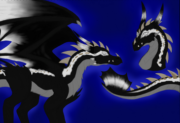 Oreo THE DRAGON, contest entry by RainbowzBoom