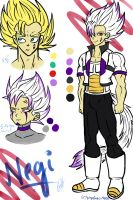 DBZ OC: Negi (UPDATED) by Vegeebs