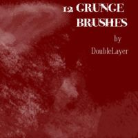12 Grunge Brushes by GabriellaSperanza