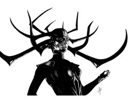 Hela by AdamTupper