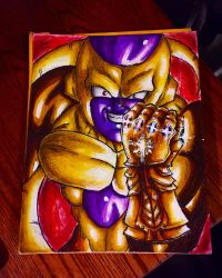 Friezas infinity gauntlet  by xprotector10