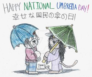 Happy National Umbrella Day! by CelmationPrince
