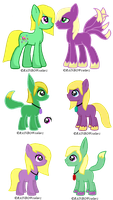 Party Streamer x Surieba Adoptables by ImBorednStuff