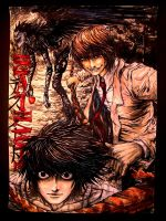 Death Note: Poster Gift Art by 13Mirror