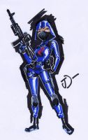 Cobra Female Trooper by sobad-jee