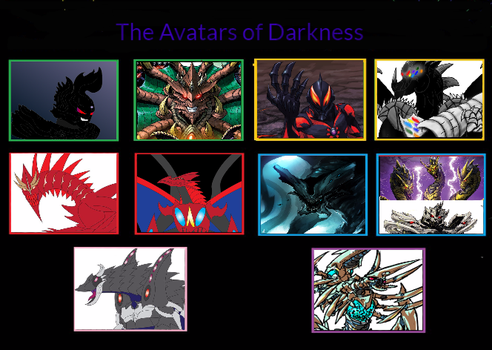 The Avatars Of Darkness by kahnac