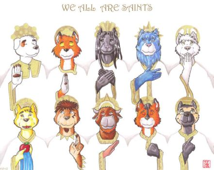 We All Are Saints by HweiChow