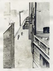 A lane in the Rocks, 1930s by nikismindriot