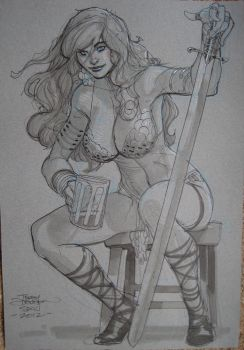 Red Sonja SDCC 2012 by TerryDodson