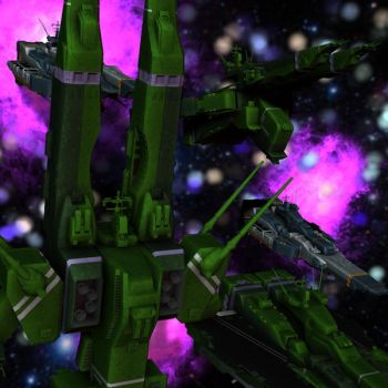 Zentradi Fortresses by healthyinsanity