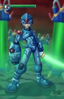 Megaman X by Kyle-Fast