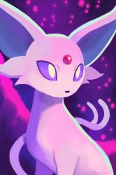 Espeon by OrcaOwl