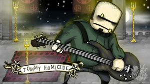 Tommy Homicide Wallpaper by shelldragon