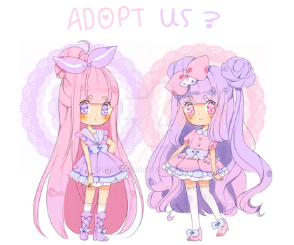 Pastel Twins Adopts {paypal} by Hacuubii