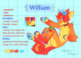 121 (Chimereon) William by CaptainOctopus6