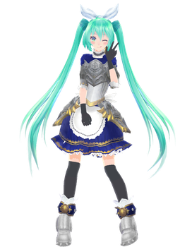 TDA Knight Miku [DOWNLOAD] by jangsoyoung