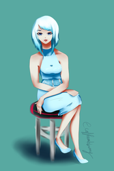 (Miss) Lee Eun Mi from Outside The Box by CoffeeEatsBunny