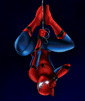 Spider-Man Homecoming by emoboyfuno