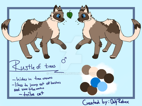 Rustle of trees-new oc by OnlyRebex