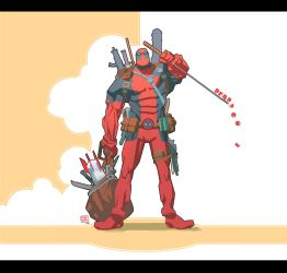 Deadpool by ChristianNauck
