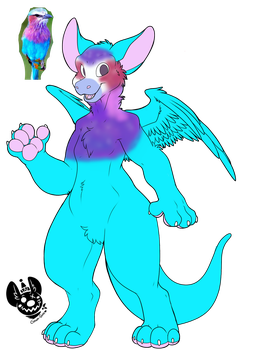(CLOSED) Dutch Angel Dragon Adopt 2 by Draconicairus
