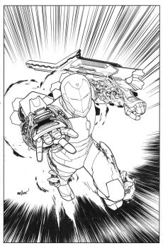 Ironman002 Cover Scan by davidmarquez