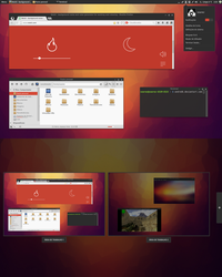 Linux Mint 16 Cinnamon by andredk
